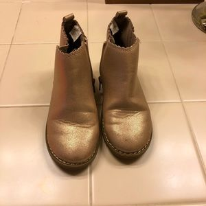 Gap Toddler metallic bootie